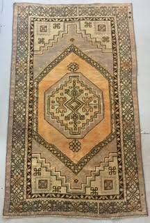 Claire 3 39 7 x 6 39 1 vintage oushak rug elizabeth lawson - Elizabeth lawson ...